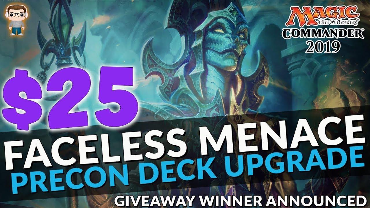 Faceless Menace | Commander 2019 Precon Upgrade | $25 Budget