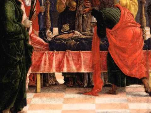Death of the virgin mantegna