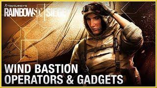 RAINBOW SIX : Siege - Tips & Tricks Wind Bastion Operators Gameplay & Gadget (2018) HD