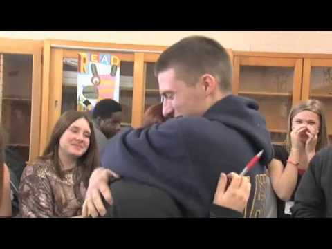 Sailor brother surprises sister in LCM classr