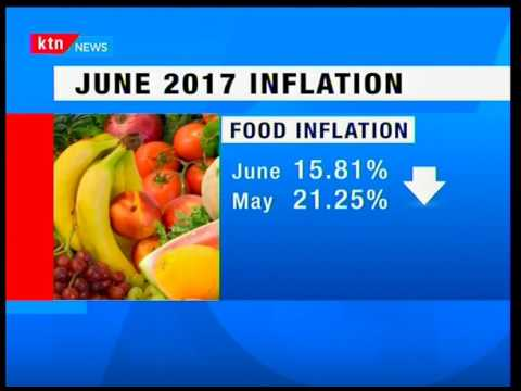 Inflation rate drops to 9.21% according to Kenya Bureau of Statistics