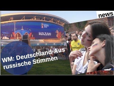 WM: Deutschland-Aus - russische Stimmen
