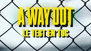 A WAY OUT : Le test en TOC | Gameplay FR