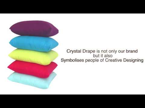 Crystal Drape A.M.Sales Corporation,home furnishings,ready made curtains,cushion covers & drapes.