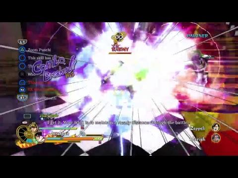 Jojo's bizarre adventure eyes of heaven story part 2  PS4