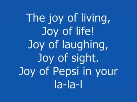 """Pepsi Commercial - """"The Joy of Cola"""""""