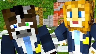 MINECRAFT SCHOOL - TROUBLE AT SCHOOL (Minecraft Roleplay Animation) Episode #4