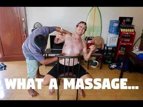 A SPECIAL MASSAGE AT HOME IN THE PHILIPPINES (A Filipino Master)