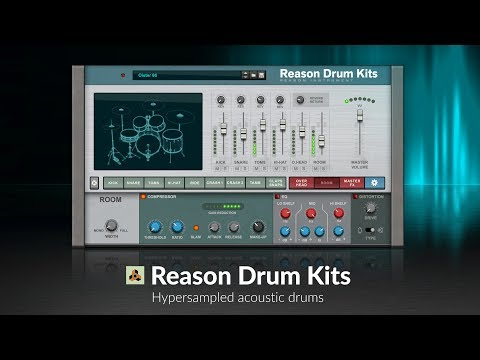Welcome back Reason Drum Kits