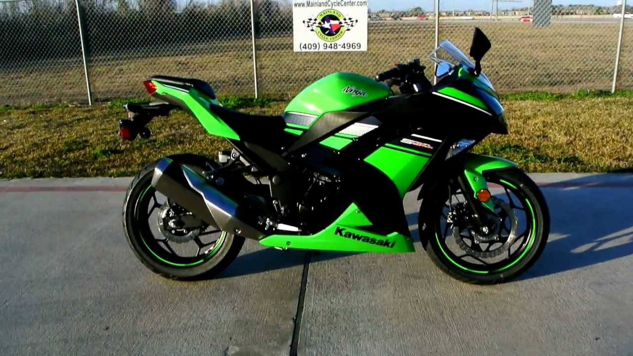 2013 Kawasaki Ninja 300 With Abs Mainlands Overview And Review