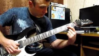 Люди як корабли - Скрябин - Как играть соло / мелодию на гитаре - видеоурок