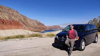 Исследуем Восток штата Юта. Горы озера водопады и теплая осень