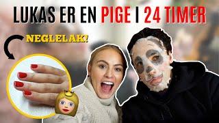 LUKAS LEVER 24 TIMER SOM EN PIGE!