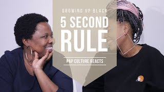 GROWING UP BLACK: 5 SECOND RULE | Pap Culture Plays