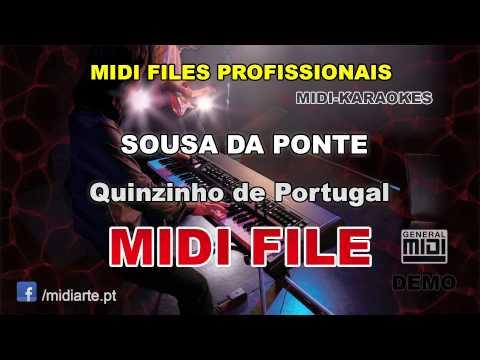 ♬ Midi file  - SOUSA DA PONTE - Quinzinho de Portugal