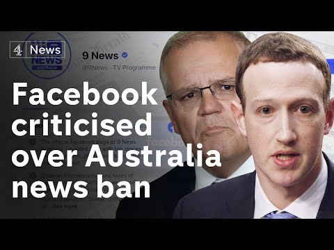 Facebook faces international criticism after tech giant blocks users from seeing news in Australia