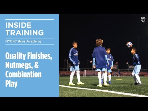 Quality Finishes, Nutmegs, & Combination Play | ACADEMY INSIDE TRAINING