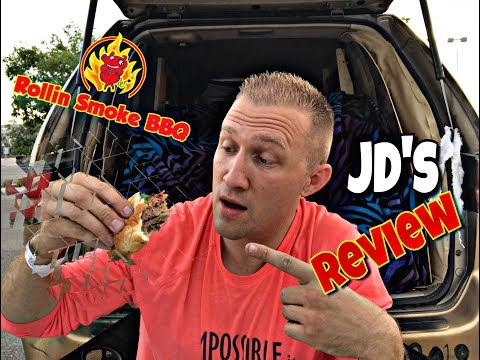 Rollin Smoke Barbeque Review | The Real JD Squad | James Dobson