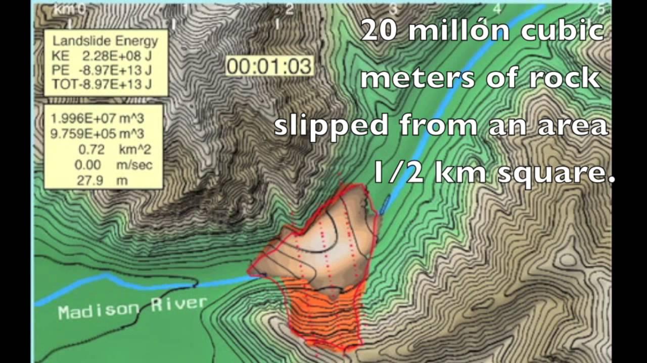 madison canyon landslide 1959 mov youtube
