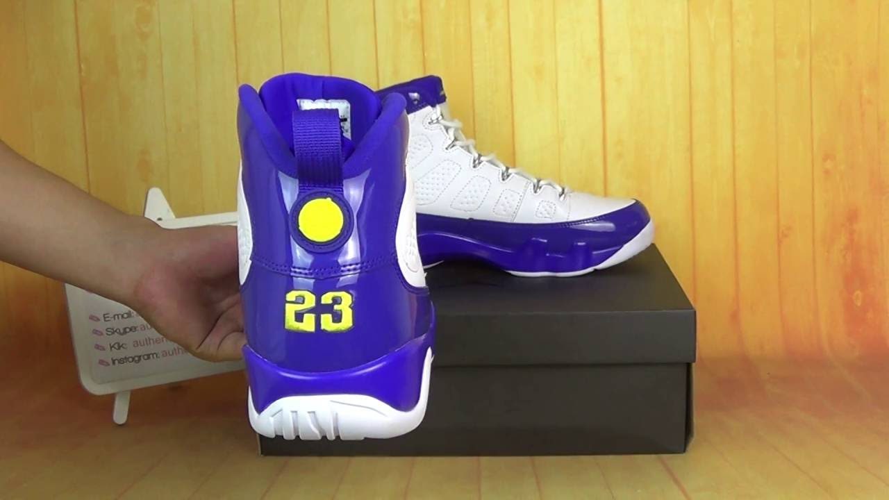 69cca8831ae9 Authentic Air Jordan 9 Kobe Bryant PE HD Unboxing Review From authenticaj
