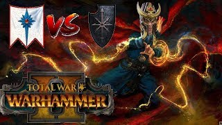 High Elves vs Chaos | THROWIN BOLTS - Total War Warhammer 2