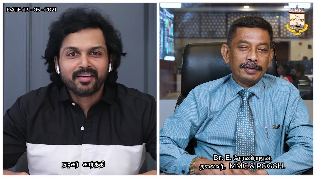 Doubts & questions about COVID-19 2nd wave with Actor Karthi