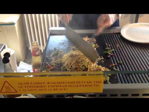 """stir fry"" at Tengiz, Kazakhstan"