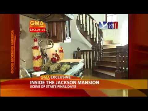 Exclusive: Inside Michael Jackson's Mansion