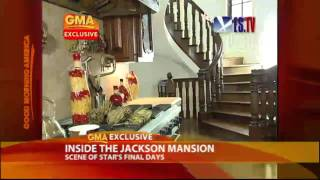 Exclusive: Inside Michael Jackson's Mansion