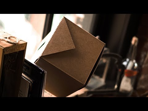 AmazeBox Kraft by Mark Shortland (Collaboration with Theory 11)