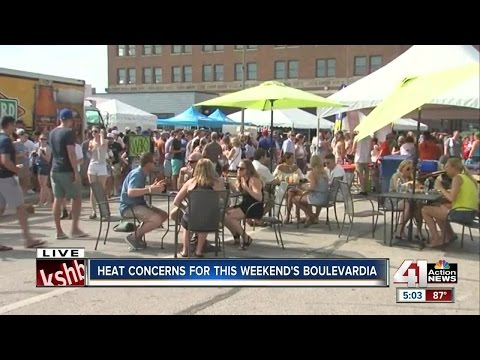 Heat becomes big issue for events around KC metro area