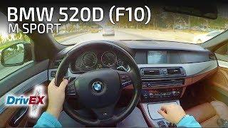 BMW F10 520D M Sport 184 HP //POV Test Drive (0-100)