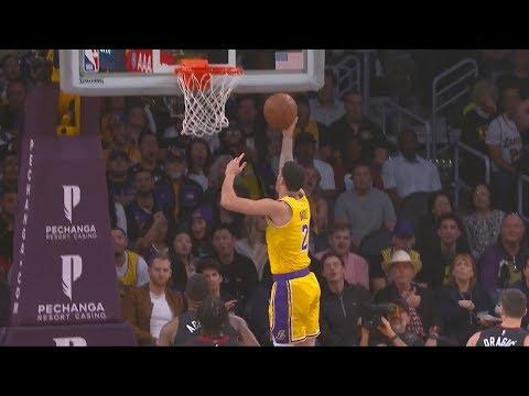 Lonzo Ball Blows a Wide-Open Layup - Heat vs Lakers | Dec 10, 2018 | 2018-19 NBA Season