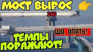 Крымский мост(сентябрь 2018) На Ж/Д очередные надвижки.Бетонирование опор.Разбор опалубки с опор!