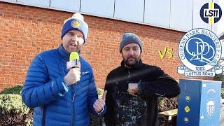 QPR 1-0 Leeds | Fans React featuring Andy McVeigh aka 'Burley Banksy'