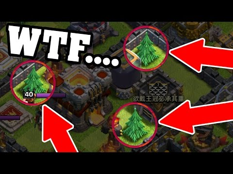 Clash Of Clans | THIS IS REAL!?! WEIRDEST BASE EVER IN CoC!!!