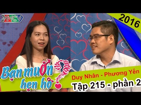 Kết thúc đẹp cho chuyện hẹn hò của nàng bác sĩ và chàng giáo viên | Duy Nhân - Phương Yến | BMHH 215
