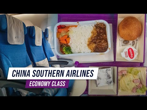 Trip Report | China Southern Airlines Economy Class | Vancouver to Guangzhou