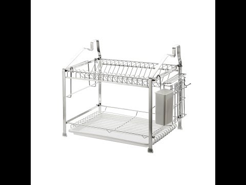greater-technology's-home-stainless-steel,-2-tier-dish-drying-rack-review