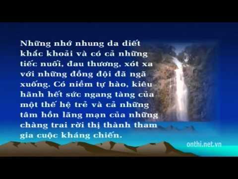 Ôn thi đại học: Phân tích bài thơ Tây Tiến - Onthi.net.vn