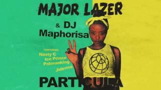 Major Lazer - Particula ft Nasty C, Ice Prince Patoranking & Jidenna Official Audio