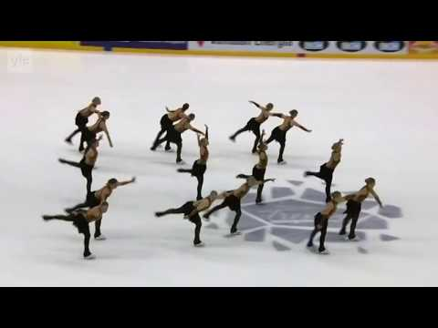 [FinTV] Rockettes - SP / Finlandia Trophy synchronized skating 2017