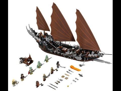 lego le seigneur des anneaux l 39 embuscade du bateau pirate. Black Bedroom Furniture Sets. Home Design Ideas