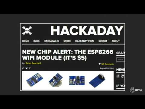 Free as in cheap gadgets: the ESP8266