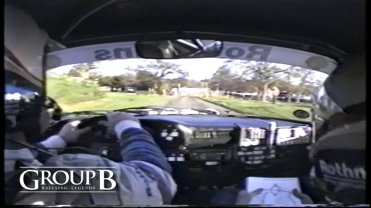 In car Roger Clark / Ian Grindrod - 1984 Lombard RAC Rally - SS4 - Sutton Park - YouTube