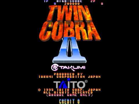 Twin Cobra II (Arcade Music) Coin