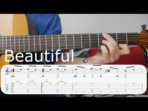 Learn to Play - Beautiful (Bazzi ft. Camila) - Fingerstyle Guitar Tutorial [Part 1]