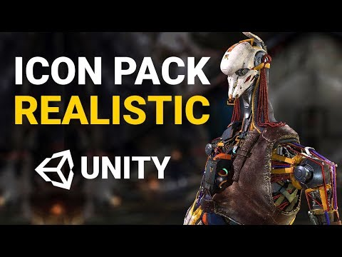 NEW REALISTIC ASSET BY UNITY! – Unity 2019: Icon Collective Pack