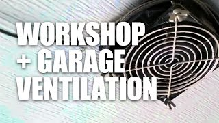 Shop and Garage Ventilation (Vent-a-Garage VG200)
