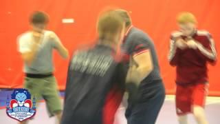 Тренировка сборной России перед Молодёжным Чемпионатом Мира 2016